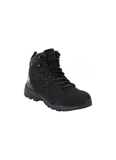 Jack Wolfskin Jack Wolfskın Cascade Hıke Texapore Mıd Erkek Outdoor Ayakkabı Siyah
